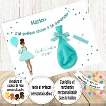 carte ballon surprise
