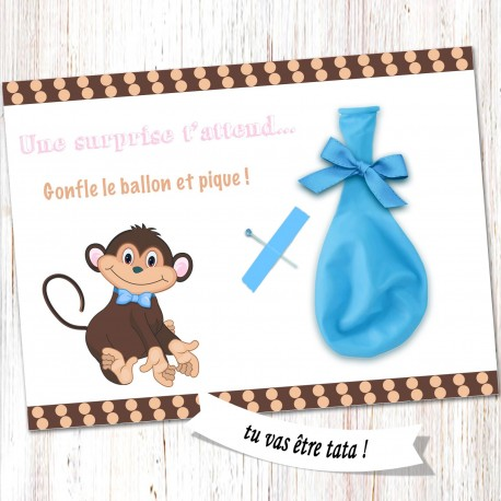 Carte surprise ballon -CB01