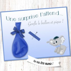 Carte surprise ballon -CB02