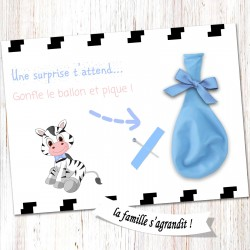 Carte surprise ballon -CB03