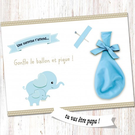 Carte surprise ballon -CB05